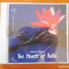 CDs de Música: CD THE HEART OF REIKI - MERLIN'S MAGIC (O3). Lote 221561191