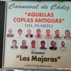 CDs de Música: CARNAVAL DE CÁDIZ CD AQUELLAS COPLAS ANTIGUAS DEL PUERTO. Lote 221561310