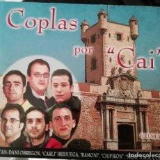 CDs de Música: CARNAVAL DE CÁDIZ CD COPLAS POR CAI VOLUMEN 2. Lote 221561637