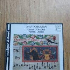 CDs de Música: MÚSICA CANTO GREGORIANO. CHANT GREGORIEN. DELLER CONSORT. ALFRED DELLER. 3 CDS Y LIBRETO. 1990.. Lote 221562113