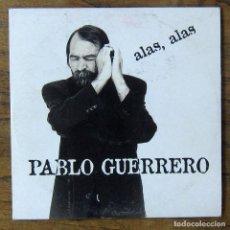 CDs de Música: PABLO GUERRERO - ALAS, ALAS / EN LA CASA HABITADA - 1995 - CANTAUTOR, CD SINGLE. Lote 221563063