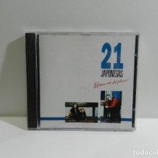 CDs de Música: DISCO CD. 21 JAPONESAS - EL MERCADO DEL PLACER. COMPACT DISC.. Lote 221576713