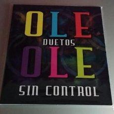 CDs de Musique: OLE OLE DUETOS SIN CONTROL CD EN CARPETA DE CARTÓN - MARTA SANCHEZ, PALOMA SAN BASILIO, MODESTIA APA. Lote 221588598