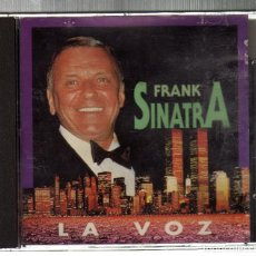 CDs de Música: CD: FRANK SINATRA - LA VOZ - NEW SOUND LIMITED U.K., 1995. Lote 221596447