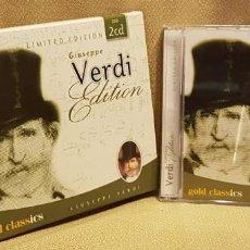CDs de Música: GUISEPPE VERDI EDITION BOX 2 CD´S. Lote 221596547