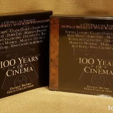 CDs de Música: 100 TEARS OF CINEMA - BOX CD´S. Lote 221596781