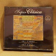 CDs de Música: SUPER CLASICA F. SCHUBERT BOX 2 CD´S. Lote 221596965