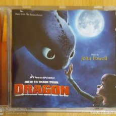 CDs de Música: B.S.O. HOW TO TRAIN YOUR DRAGON - CD 2010 JOHN POWELL (B.S.O. COMO ENTRENAR A MI DRAGÓN). Lote 221597635