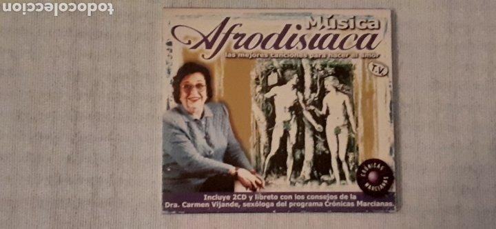 CD MÚSICA AFRODISIACA,2 CD MÁS LIBRETO,MUY DIFÍCIL DE CONSEGUIR (Música - CD's Melódica )