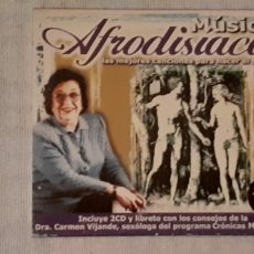 CDs de Música: CD MÚSICA AFRODISIACA,2 CD MÁS LIBRETO,MUY DIFÍCIL DE CONSEGUIR. Lote 221601677