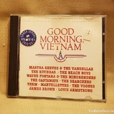CDs de Música: GOOD MORNING VIETMAN - ORIGINAL MOTION OICTURE SOUND TRACK. Lote 221602083