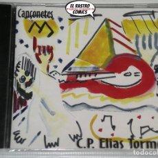 CDs de Música: CANÇONETES, C.P. ELIAS TORMO, CIUTAT D´ALBAIDA, CD PRECINTADO, ERNEST SEGUÍ. Lote 221602475