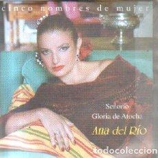 CDs de Música: CINCO NOMBRE DE MUJER. ANA DEL RIO. CD-FLA-1046. Lote 221603872