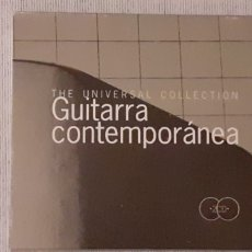 CDs de Música: THE UNIVERSAL COLLECTION GUITARRA CONTEMPORÁNEA, DOBLE CD. Lote 221604090