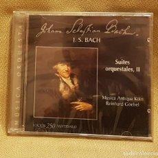 CDs de Música: J.S. BACH MUSICA CORAL Y VOCAL - PRECINTADO. Lote 221604470