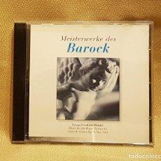 CDs de Música: MEISTERWERKE BAROCK. Lote 221604862