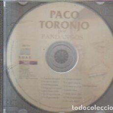 CDs de Música: FANDANGOS. PACO TORONJO. A-FLA-1051. Lote 221605151