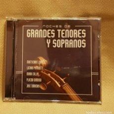CDs de Música: NOCHES DE SOPRANOS - MONTSERRAT CABALLÉ - PAVAROTTI- MARIA CALLAS- P. DOMINGO- J. CARRERAS 2 CD´S. Lote 221605613