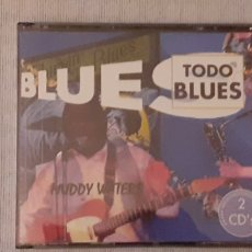 CDs de Música: DOBLE CD ,TODO BLUES, 30 TEMAS, COMO NUEVO. Lote 221607272