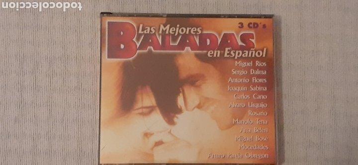 CD LAS MEJORES BALADAS, TRIPLE CD ,COMO NUEVO (Música - CD's Melódica )