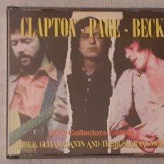 CDs de Música: CD TRIPLE, CLAPTON-PAGE-BECK. Lote 221608495