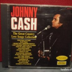 CDs de Música: CD JOHNNY CASH : THE GREAT COUNTRY LOVE SONGS COLLECTION. Lote 221608626