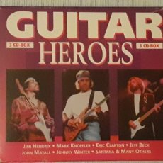 CDs de Música: TRIPLE CD ,GUITAR HEROES. Lote 221609057