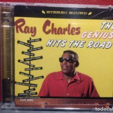 CDs de Música: CD RAY CHARLES AT THE GENIUS HITS THE ROAD ( CON BONUS TRACKS). Lote 221610073