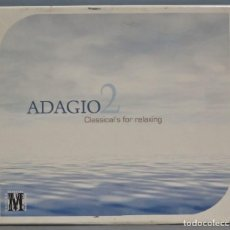 CDs de Música: CAJA CD. ADAGIO 2. CLASSICAL'S FOR RELAXING. Lote 221612187