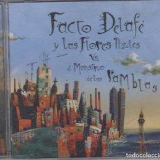 CDs de Música: FACTO DELAFÉ Y LAS FLORES AZULES CD EL MONSTRUO DE LAS RAMBLAS 2007. Lote 221624747
