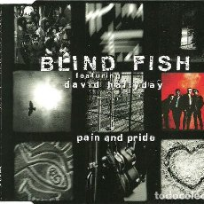 CDs de Música: BLIND FISH FEATURING DAVID HALLYDAY- PAIN AND PRIDE. Lote 221625256