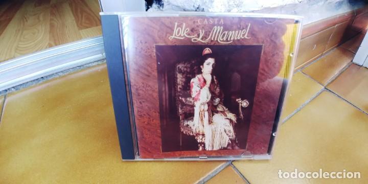 LOLE Y MANUEL-CD CASTA (Música - CD's Flamenco, Canción española y Cuplé)