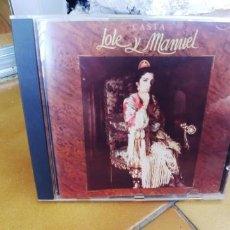 CDs de Música: LOLE Y MANUEL-CD CASTA. Lote 221625318