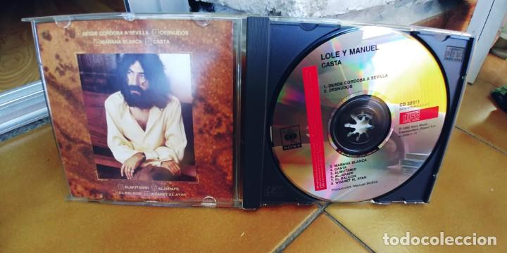 CDs de Música: LOLE Y MANUEL-CD CASTA - Foto 2 - 221625318