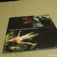 CDs de Música: NICK CAVE & THE BAD SEEDS + KYLIE MINOUGUE. WHERE THE WILD ROSES GROW. Lote 221626442