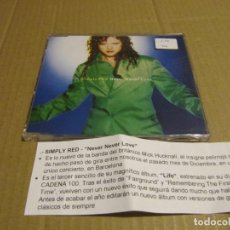 CDs de Música: SIMPLY RED NEVER NEVER LOVE CD CADENA 100. Lote 221627963