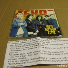CDs de Música: TEXAS - YOU'VE GOT LO LIVE A LITTLE (CD SINGLE PROMO CADENA 100 1993). Lote 221627982