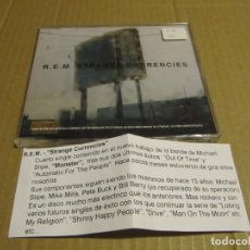 CDs de Música: R.E.M. CD SINGLE CADENA 100 STRANGE CURRENCIES. Lote 221627990