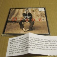 CDs de Música: THERAPY-DIANE CD SINGLE 1995 CADENA 100. Lote 221628016