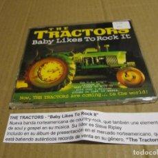 CDs de Música: THE TRACTORS. BABY LIKES TO ROCK IT. CD PROMO CADENA 100. Lote 221628037