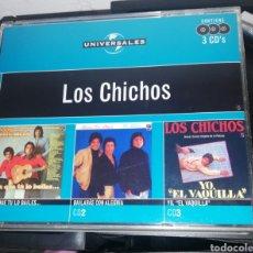 CDs de Música: LOS CHICHOS CD TRIPLE / PARA QUE TÚ LO BAILES / BAILARÁS CON ALEGRÍA / YO, EL VAQUILLA. Lote 221629888