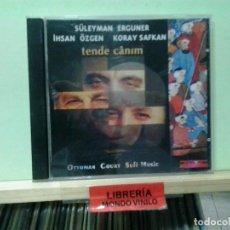 CDs de Música: LMV - SÜLEYMAN ERGUNER, IHSAN ÖZGEN, KORAY SAFKAN. OTTOMAN COURT SUFI MUSIC -- CD. Lote 221638635