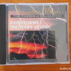 CDs de Música: CD ATMOSPHERIC MOODS - RAINSTORMS - THE TEARS OF GOD (O3). Lote 221640607