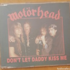 CDs de Música: MOTORHEAD - DON'T LET DADDY KISS ME. CD SINGLE PROMOCIONAL. Lote 221641493