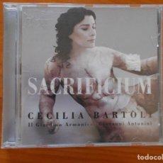 CDs de Música: CD CECILIA BARTOLI - SACRIFICIUM (O3). Lote 221659120