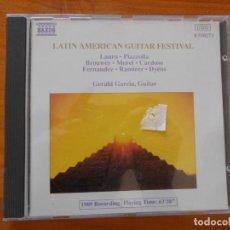 CDs de Música: CD LATIN AMERICAN GUITAR FESTIVAL (O3). Lote 221659298