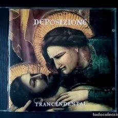 CDs de Música: TRANCENDENTAL DEPOSIZIONE - CD ITALIA - 1995 - CAMPAGNIA NUOVE INDYE. Lote 221659303