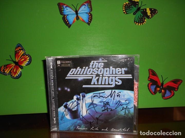 THE PHILOSOPHER KINGS - FAMOUS RICH AND BEAUTIFUL - FIRMADO POR LOS ARTISTAS - CD (Música - CD's Jazz, Blues, Soul y Gospel)