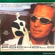 CDs de Música: DJ POCHOLO QUE DIOS SALVE A LAS VACAS Y A TO2 NOSOTROS CD + CDROM / RF-8013. Lote 221660632