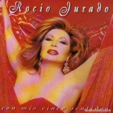 CDs de Música: ROCIO JURADO - CON MIS CINCO SENTIDOS - CD ALBUM - 10 TRACKS - SONY MUSIC - AÑO 1998. Lote 221660846